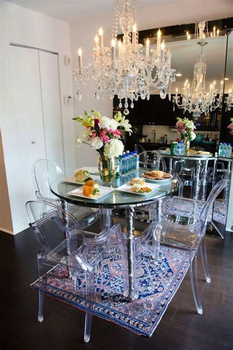 beveled floor mirror eclectic dining room refinery