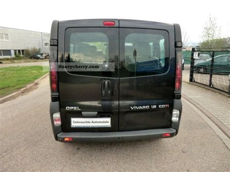 opel vivaro 2005 opel vivaro 1 9 cdti 9 seats air navigation pdc 6 speed