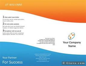 Free Brochure Templates For Microsoft Word by Free Microsoft Office Brochure Templates Ginva