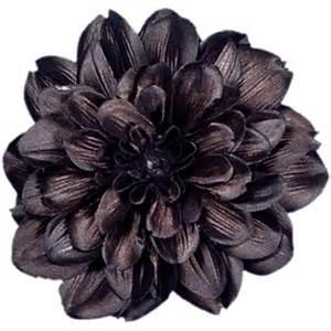 black flower flower clip black dahlia x large 6 inch large alligator hair clip fall winter fashion