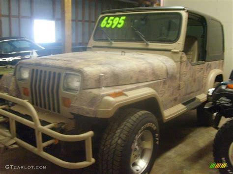 1988 camouflage jeep wrangler sport 4x4 4505889 photo 3 gtcarlot car color galleries