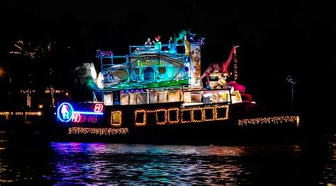 boat light up fort lauderdal christmas fort lauderdale boat parade 2016 stuart corinthian yacht club