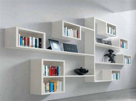 modern wall storage wall shelf ideas bedroom living room diy floating shelves