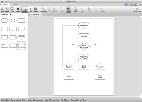 flowchart software for mac free clickcharts mac flowchart software mac best free