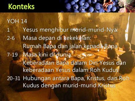 Tinggal Di Dalam Kristus tinggal di dalam kristus