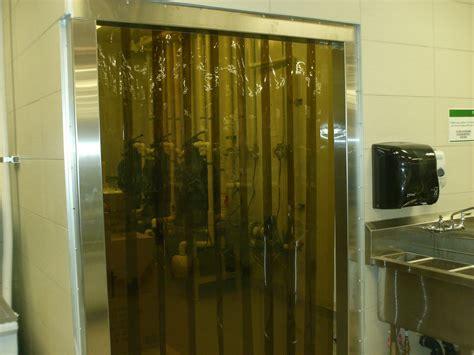 vinyl strip door curtain vinyl strip door curtain 36 quot x 108 quot amber semi transparent