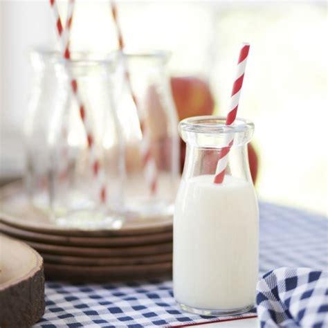Milk Bottle Glasses (Set of 6)