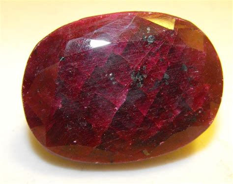 Ruby 7 20 Ct 62 ct ruby gemstone