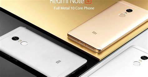 4 Dan Spesifikasi Harga Xiaomi Redmi Note 4 Dan Spesifikasi Terbaru Agustus