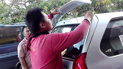 Pengaman Bumper Mobil Tanduk Depan All New Avanza Xenia pemasangan spoiler all new xenia di best one variasi mobil 08123508995 wa