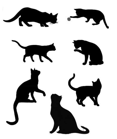 cat silhouette tattoo 25 best ideas about cat silhouette tattoos on