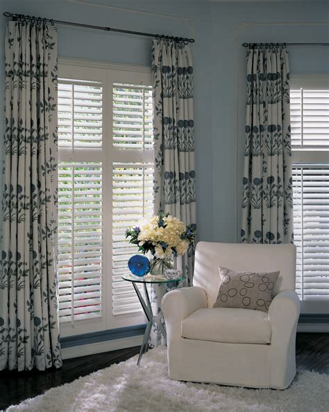 drapes with plantation shutters window treatments with shutters 2017 grasscloth wallpaper