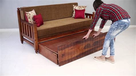 how to build a wooden couch sofa cum bed erika sofa cum bed online wooden street