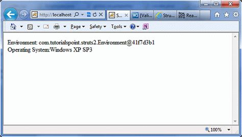 xp jsp tutorial struts 2 type conversion