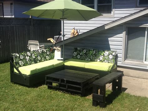 Diy Patio Designs Patio Furniture My Husband And I Made A Lot Of Work But Well Worth It Diy