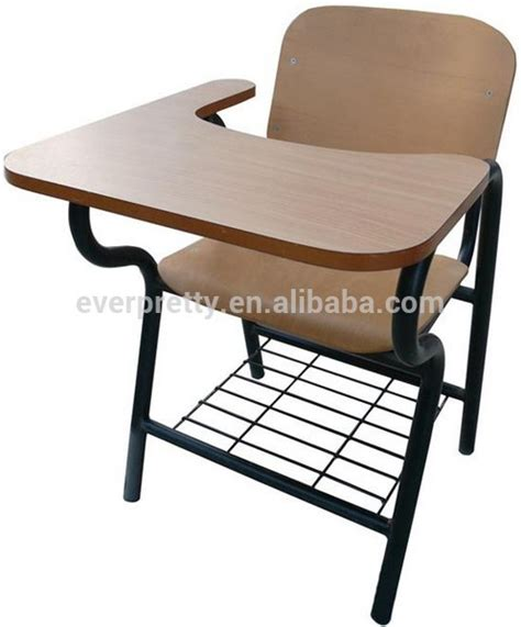 Study Chair With Attached Table by New Design Student Chair With Writing Pad Chairs With
