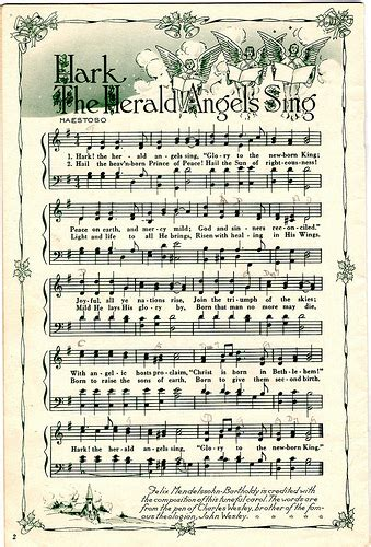 printable lyrics hark the herald angels sing hark the herald angels sing flickr photo sharing