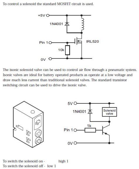 solenoid valve circuit diagram gas solenoid valve wiring diagram efcaviation