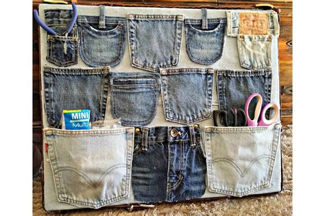 denim home decor 11 stylish ways to repurpose old jeans into home decor