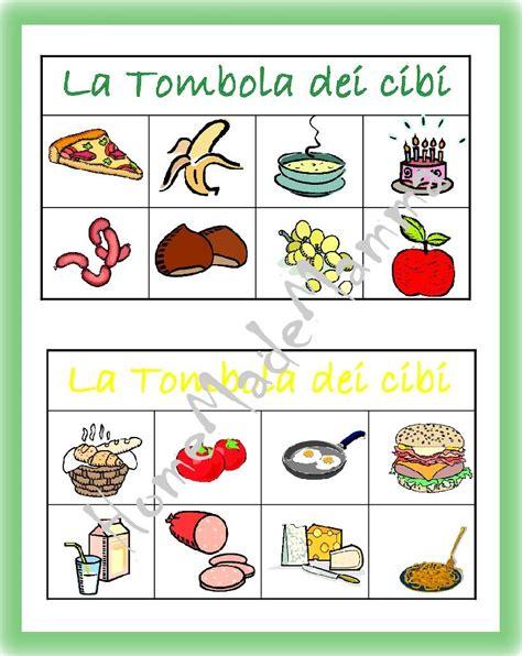 tavola degli alimenti la tombola degli alimenti giochi da tavolo fai da te