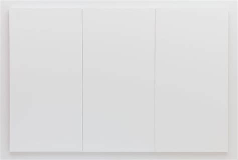 Painting White white painting three panel