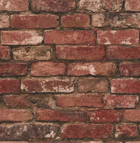 fine decor distinctive rustic brick wallpaper fd31285 red brown cut price wallpaper