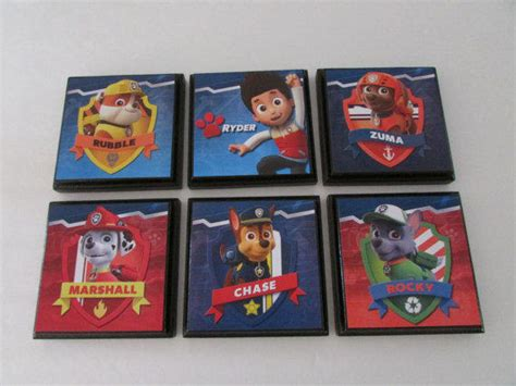 Paw Patrol Room Decor by Paw Patrol Room Wall Plaques Set From Justforyou22