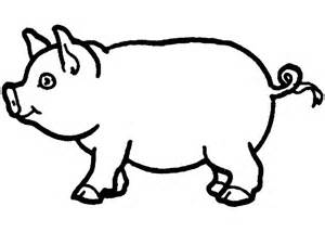 Coloring Page Of A Pig Pig Template Animal Templates Free Premium Templates by Coloring Page Of A Pig