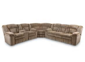 furniture l shaped sectional sleeper sofa with recliners