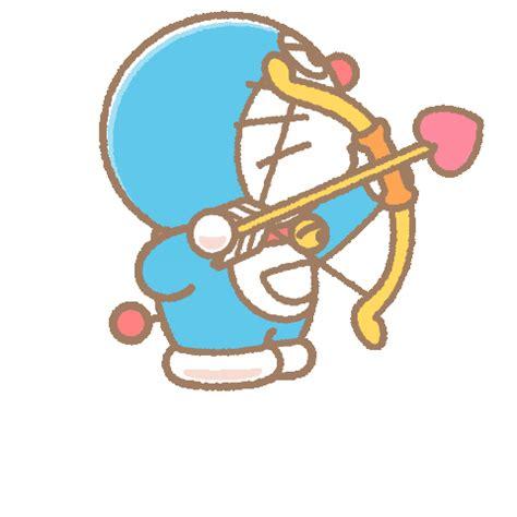 Sprei Doraemon Line No 3 No 4 Single line official stickers doraemon pop up stickers exle with gif animation