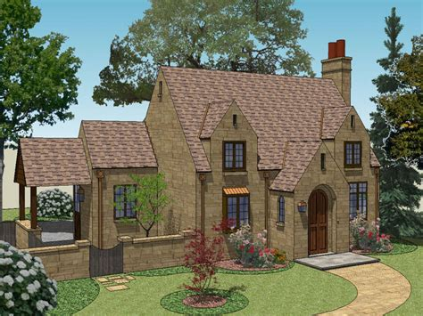 cottage home plan tiny romantic cottage house plan english cottage house
