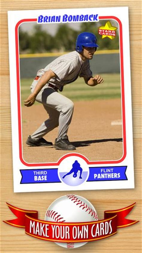 Make Your Own Baseball Cards Template by 25 Best Ideas About Baseball Cards On