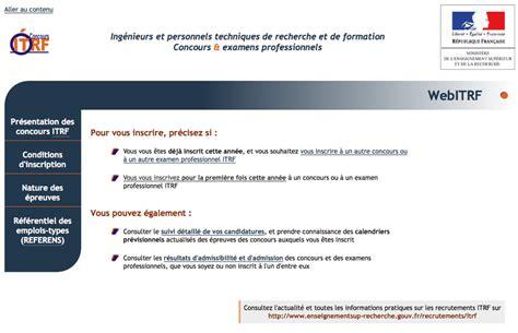 Calendrier Concours Cnrs Copies D 233 Cran Formulaire D Inscription Web Concours