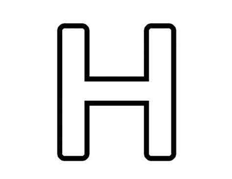h h 42 best images about letter work h on pinterest bubble