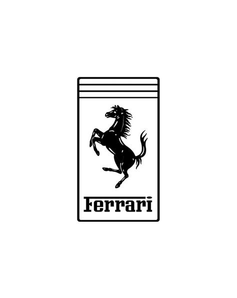 ferrari logo black and white vector ferrari logo black and white fiat world test drive