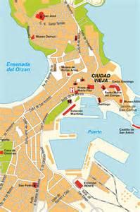 La Coruna Spain Map by Map La Coru 241 A Spain Maps And Directions At Map