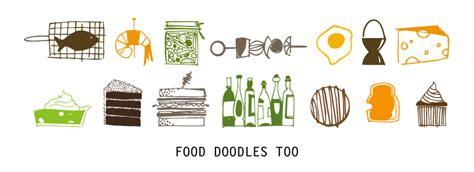 food doodle fonts food doodles font family fonts