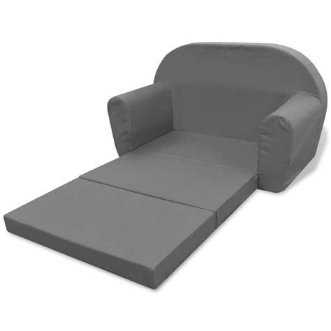 poltrone letto per bambini vidaxl poltrona letto per bambini grigia vidaxl it