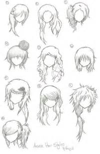 1000 ideas about anime hairstyles on anime