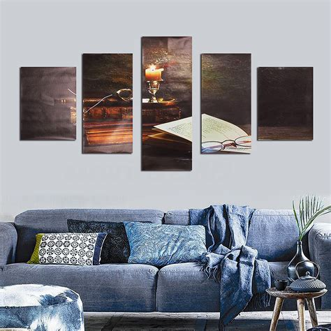 abstract home decor 5pcs modern abstract canvas painting print picture wall art home decor no frame ebay
