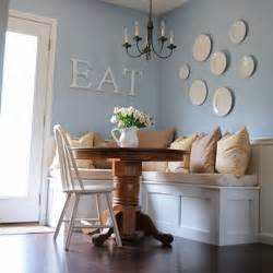kitchen wall decoration ideas creating the breakfast nook table and chairs