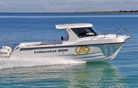 leisure boats for sale australia custom designed built boats leisurecat aussiecat