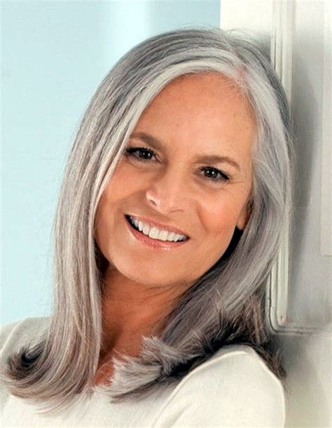 makeup for women with gray hair over 60 ombre hair color trends is the silver grannyhair style