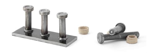 10 32 Threaded Stud Ceramic by Stud Welding Studs Studmaster