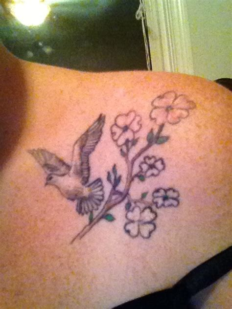 watercolor tattoo vermont dove dogwood tatts tattoos and
