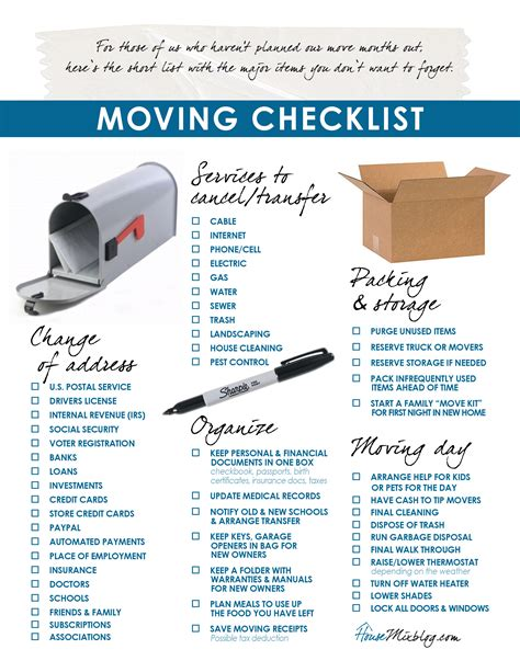 how to pack up move out of your home a two month timeline with