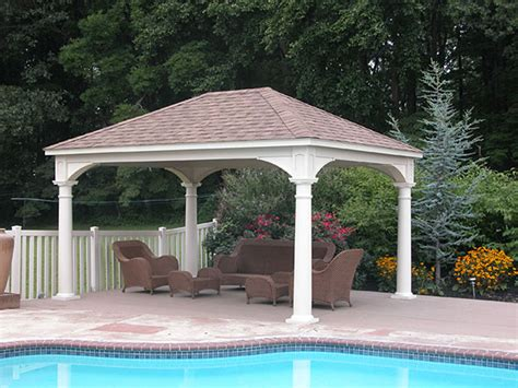 Backyard Pavilions by Traditional Pavilion Pa Area Backyard Beyond