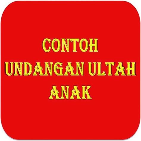 Undangan Ultah Anak november 2013