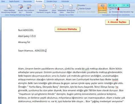 email resmi rs siloam ms word uygulamaları ms word 2007de adres mektup