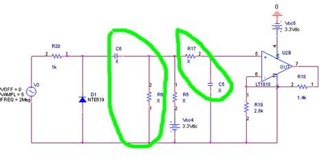 capacitor filter cutoff frequency capacitor calculation of cutoff frequency in larger circuit electrical engineering stack